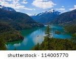 Diablo Lake. North Cascades...