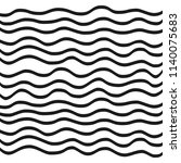 waves background. vector... | Shutterstock .eps vector #1140075683