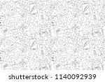 vector online healthcare and... | Shutterstock .eps vector #1140092939