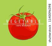 fresh illustration of red...   Shutterstock .eps vector #1140096398
