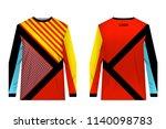 design for sublimation print.... | Shutterstock .eps vector #1140098783
