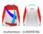 design for sublimation print.... | Shutterstock .eps vector #1140098786