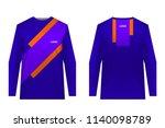 design for sublimation print.... | Shutterstock .eps vector #1140098789