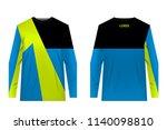 design for sublimation print.... | Shutterstock .eps vector #1140098810