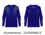 design for sublimation print.... | Shutterstock .eps vector #1140098813
