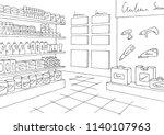 hardware store graphic black... | Shutterstock .eps vector #1140107963