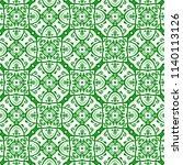 orient vector classic green and ...   Shutterstock .eps vector #1140113126