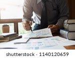 business concept. business... | Shutterstock . vector #1140120659