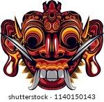 leak mask illustration | Shutterstock .eps vector #1140150143