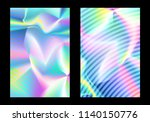 holographic foil. very... | Shutterstock .eps vector #1140150776