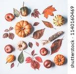 Autumn Flat Lay With Various...