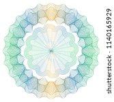 vector guilloche elements for... | Shutterstock .eps vector #1140165929