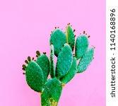 cactus minimal design. plants... | Shutterstock . vector #1140168896