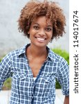pretty african american college ... | Shutterstock . vector #114017674