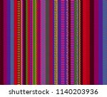 blanket stripes seamless vector ... | Shutterstock .eps vector #1140203936