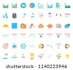 business flat icon | Shutterstock .eps vector #1140223946