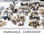 high technology and engineering ... | Shutterstock . vector #1140231020