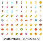 food flat icon | Shutterstock .eps vector #1140236870