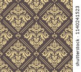 orient vector classic brown and ...   Shutterstock .eps vector #1140241523