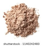 heap of brown chocolate protein ... | Shutterstock . vector #1140242483