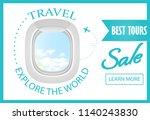 travel  explore the world... | Shutterstock .eps vector #1140243830