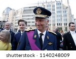 belgium's king philippe greets... | Shutterstock . vector #1140248009