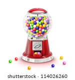 Illustrated Whimsical Gumball...