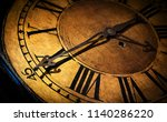 close up old antique classic... | Shutterstock . vector #1140286220