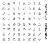 pharmacy icon set. collection... | Shutterstock .eps vector #1140289859