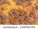 rusty metal background texture | Shutterstock . vector #1140331256