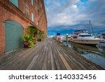 henderson's wharf  in fells...   Shutterstock . vector #1140332456