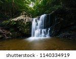 cascade falls  at patapsco...   Shutterstock . vector #1140334919