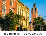 architecture in over the rhine  ...   Shutterstock . vector #1140334970