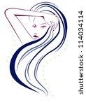 hair | Shutterstock .eps vector #114034114