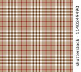 tartan traditional checkered... | Shutterstock .eps vector #1140349490