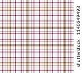 tartan traditional checkered... | Shutterstock .eps vector #1140349493