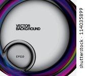 vintage vector background... | Shutterstock .eps vector #114035899