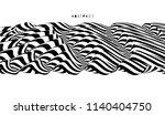 black and white design. pattern ... | Shutterstock .eps vector #1140404750