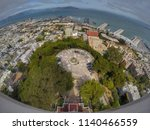 view from the top of the coit... | Shutterstock . vector #1140466559