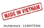 made in vietnam stamp seal... | Shutterstock .eps vector #1140475346