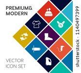modern  simple vector icon set... | Shutterstock .eps vector #1140497399