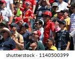montreal  saturday june 9  2018.... | Shutterstock . vector #1140500399