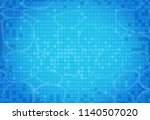 swimming pool background.... | Shutterstock .eps vector #1140507020