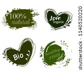 set of logos  design elements.... | Shutterstock .eps vector #1140520220