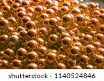 a lot of beads. brilliant... | Shutterstock . vector #1140524846
