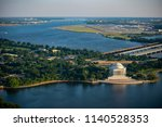 aerial photo of washington  dc  ... | Shutterstock . vector #1140528353
