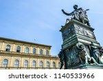historic residenztheatre in...   Shutterstock . vector #1140533966