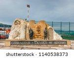 gibraltar  spain   april 07 ... | Shutterstock . vector #1140538373
