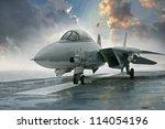 F 14 Tomcat Jet Fighter On A...