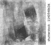 black grey grunge brush texture ... | Shutterstock . vector #1140548636